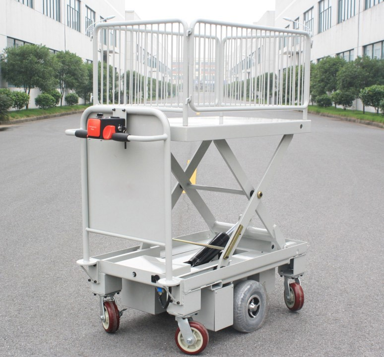 Centre Drive Electric Lift Table with Fence(HG-1090BF)