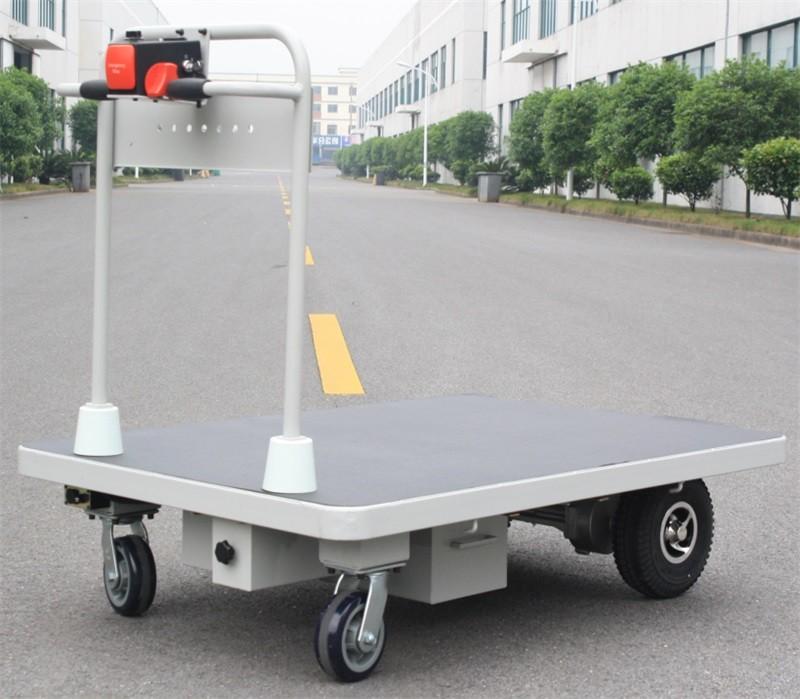 Electric Platform Cart for material handling (HG-1080)