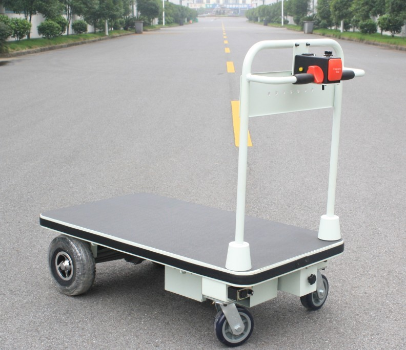 Electric Platform Trolley With Big Wheels (HG-1030)