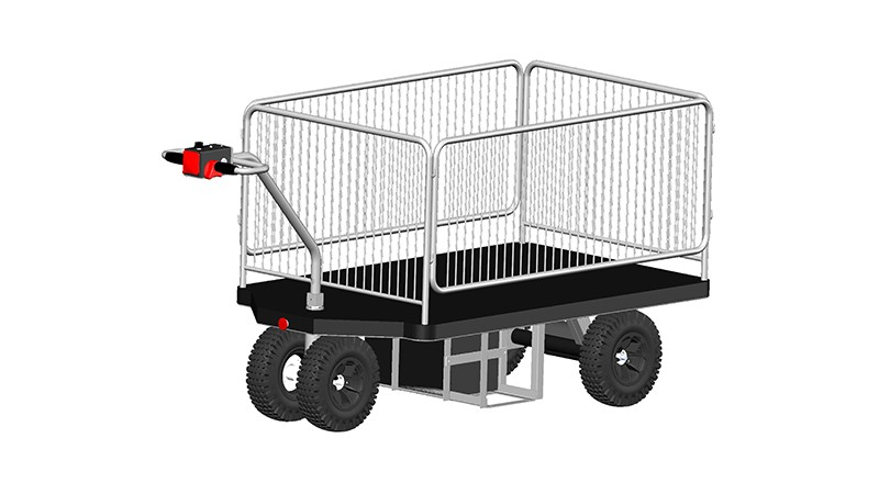 Material Handling Cart with fence (HG-1150F)